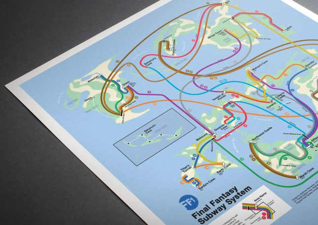 6 Classic Nintendo Gameworlds, Redrawn As Subway Maps