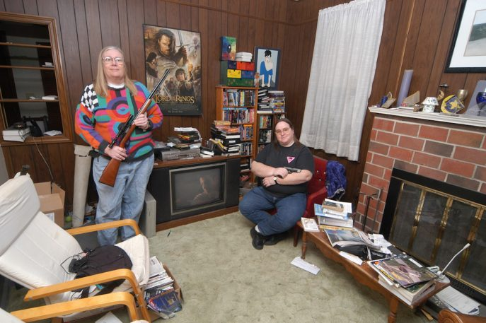 Disturbing Yet Humanizing Portraits Of Gun Owners At Home