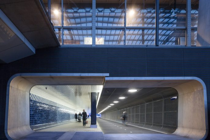 From The Dutch, A Pedestrian Underpass You'll Actually Want To Walk Through