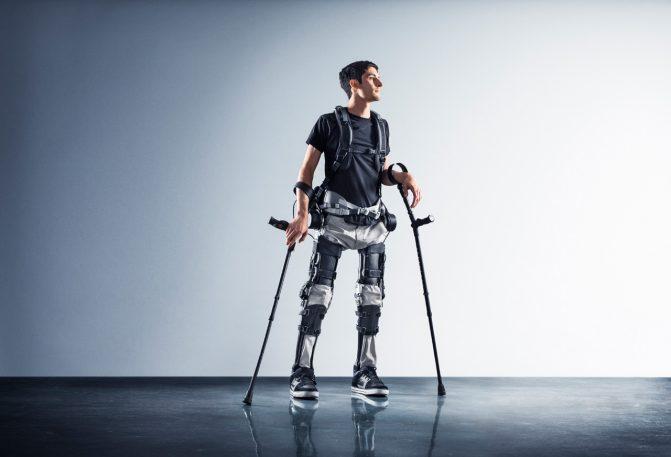 A Budget Exoskeleton Allows Paraplegics To Walk–For The Price Of A Car
