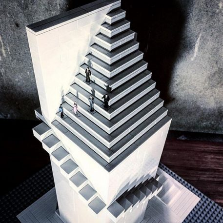 This Instagrammer Is Meticulously Rebuilding Brutalist Landmarks With Lego