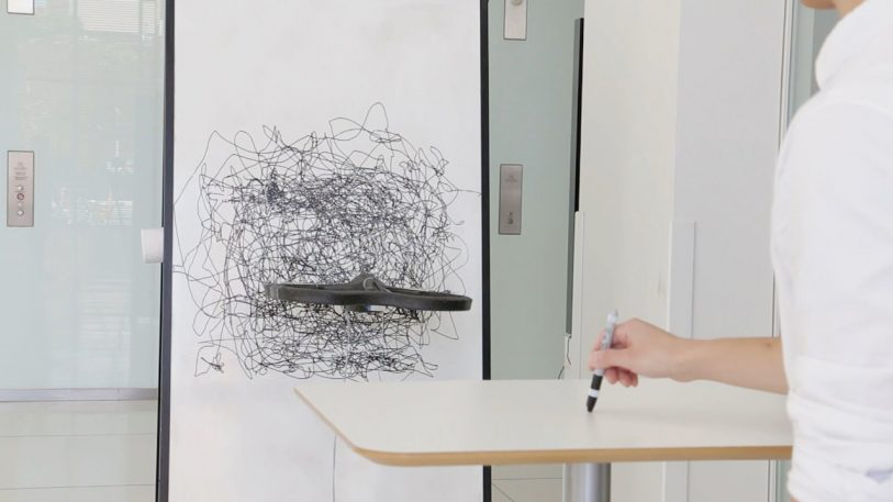 Don't Tell Banksy, But MIT Invented The Perfect Drone For Graffiti