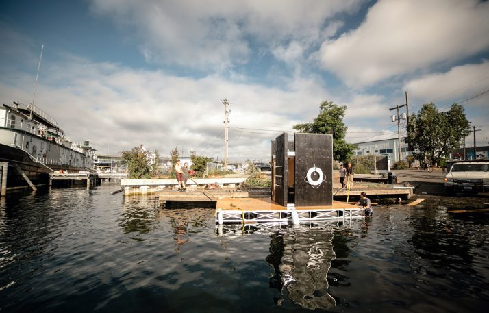 This Floating Sauna Is Like Your Own (Very Small) Private Island