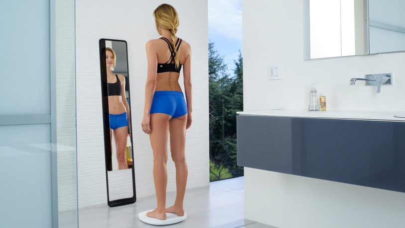 This Beautiful Mirror Is Really An Incredibly Accurate Scale