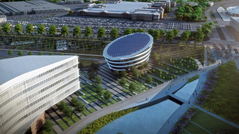 Ford's 10-Year Plan To Transform Its Headquarters Into A High-Tech Campus