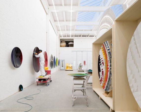 Inside Artist Anish Kapoor's Sprawling New Studios