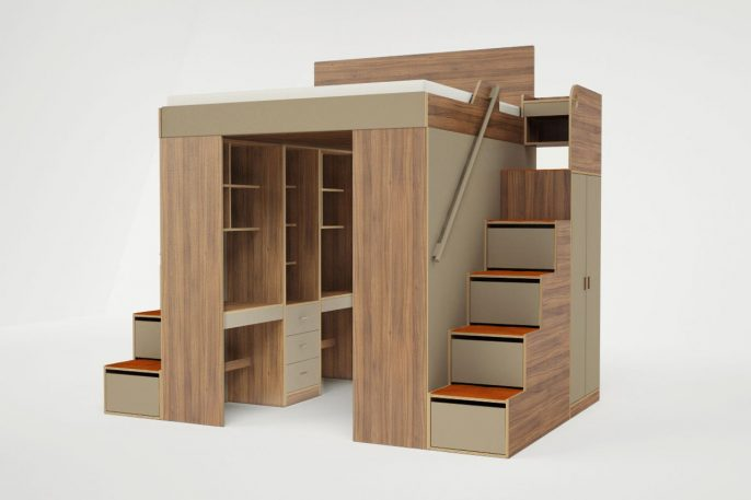 Tiny Apartment? Check Out These Loft Beds For Adults