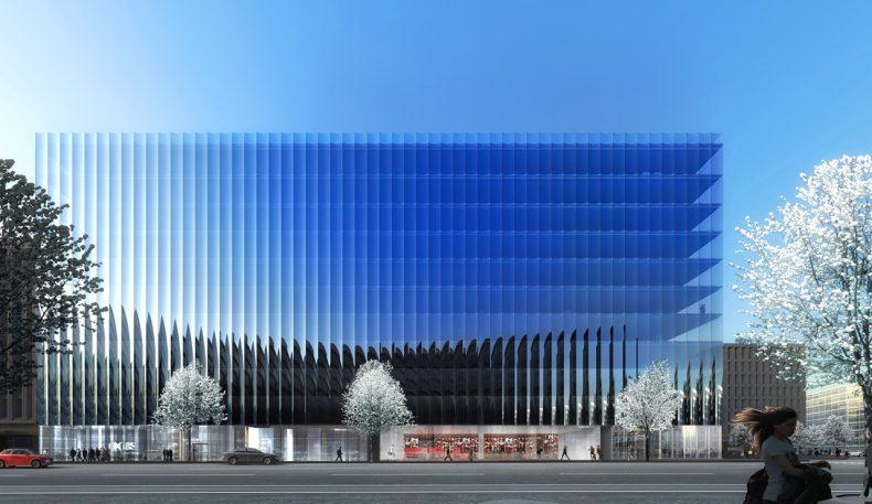 REX Radically Rethinks The Glass Curtain Wall