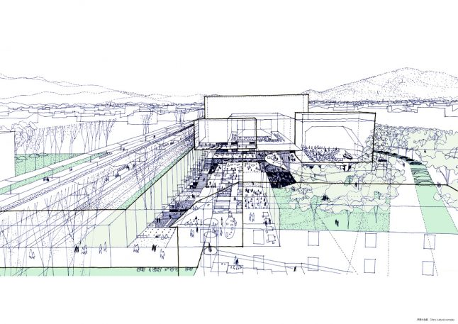 Rendering The Complexity Of Tokyo By Hand