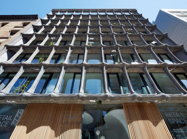 This Skeleton-Inspired Building Brings A Little Gaudí To NYC