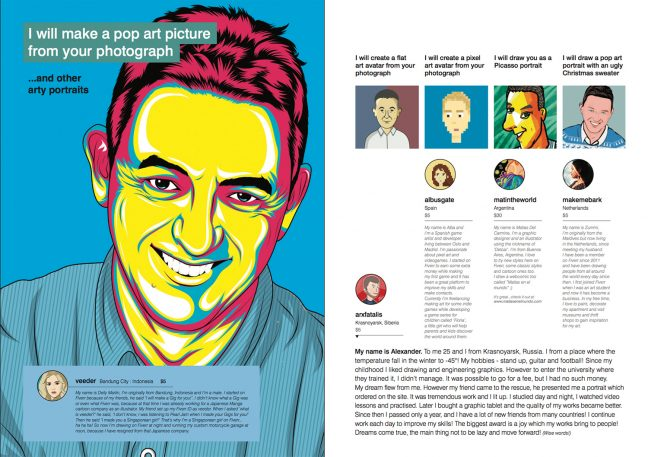 What Happens When You Commission A Magazine From The Gig Economy