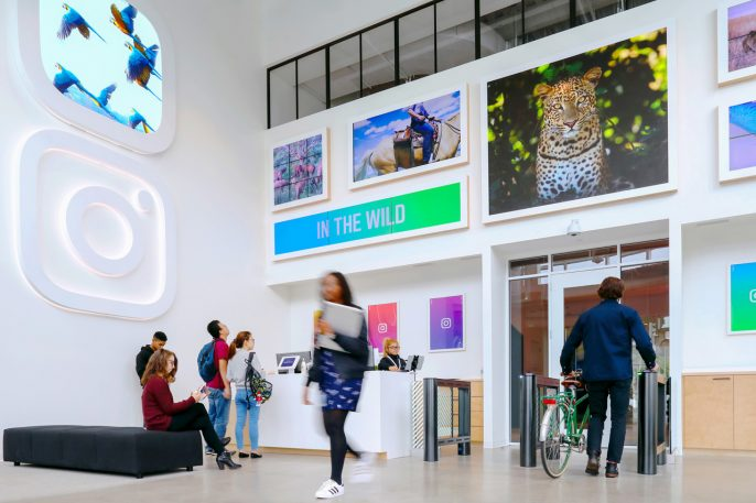 Instagram's New Offices Are Ready For Their Close-Up