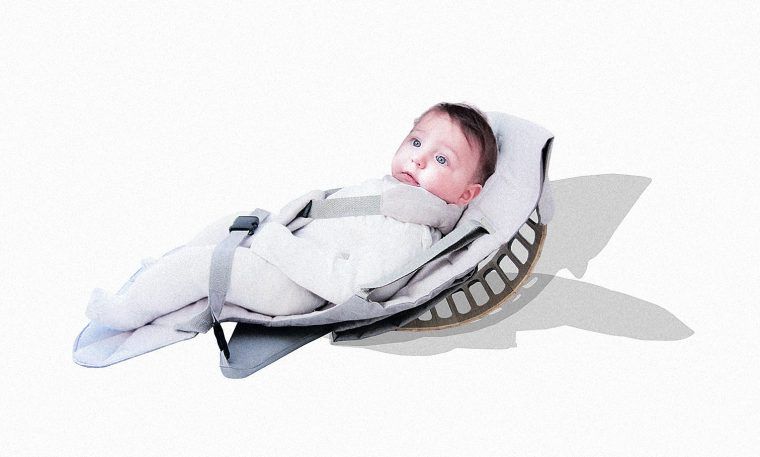 Clever Baby Carrier Converts Into A Rocker