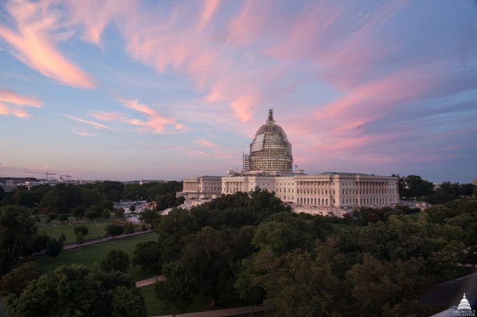 The Beautiful, Painstaking Restoration Of The U.S. Capitol
