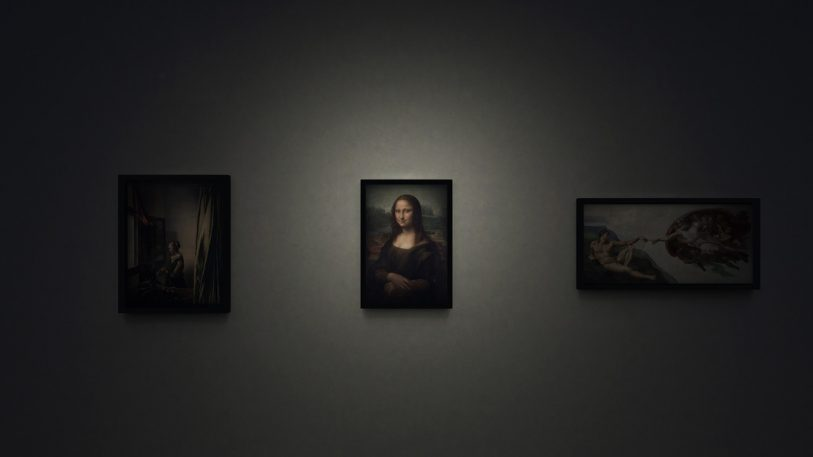 What It's Like To Peer Inside Mona Lisa's World
