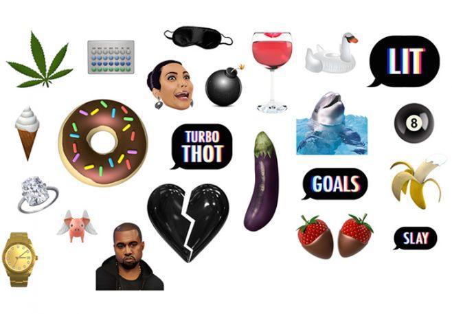 What It's Like To Be Kim Kardashian West's Personal Emoji Designer