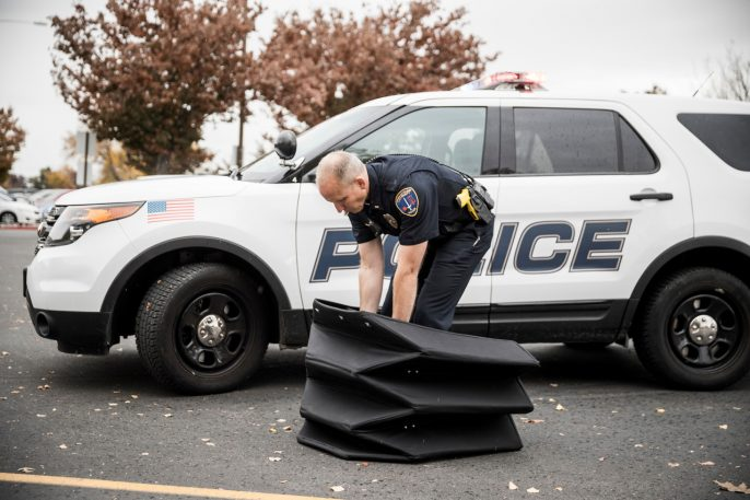 The Secret Behind This New Bulletproof Shield? Origami