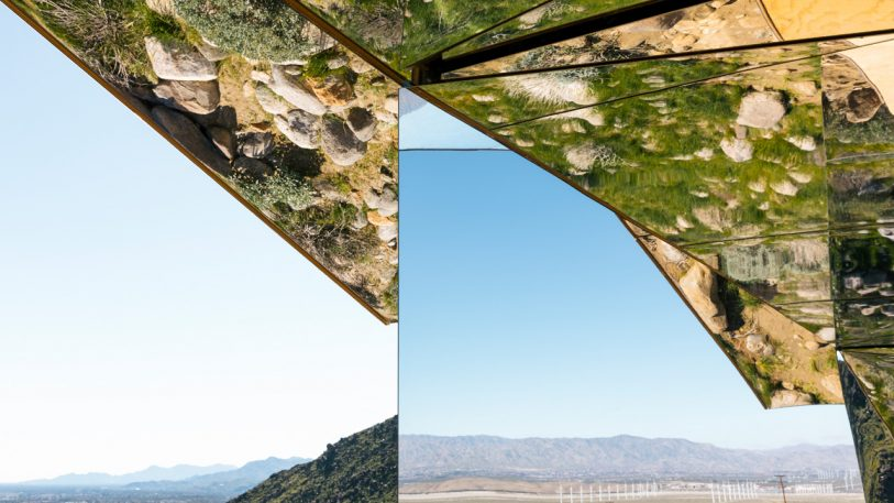 This Mirror-Covered Ranch House Acts Like A Giant Kaleidoscope