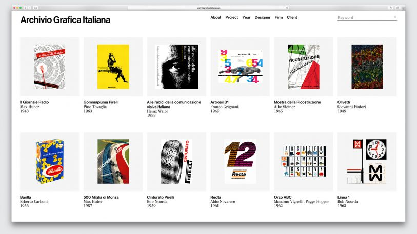 Italy's Overlooked Graphic Design Greats Get An Online Museum