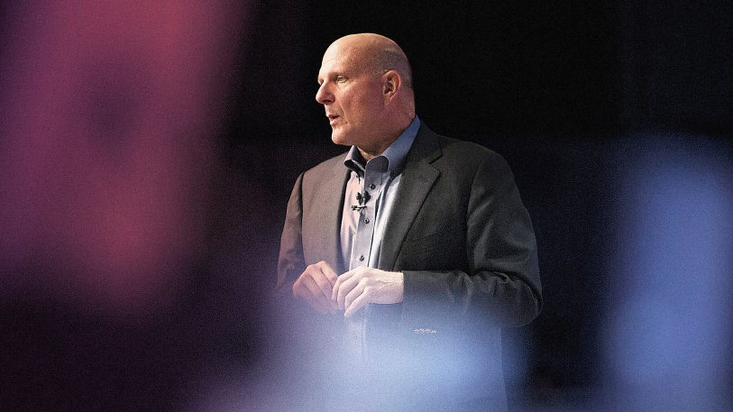 Steve Ballmer Spends Millions To Redesign Government Information