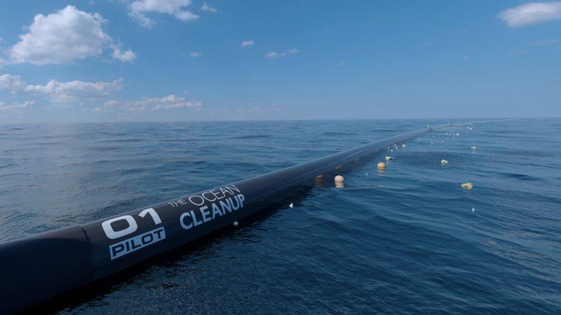 Boy Genius Boyan Slat's Giant Ocean Cleanup Machine Is Real