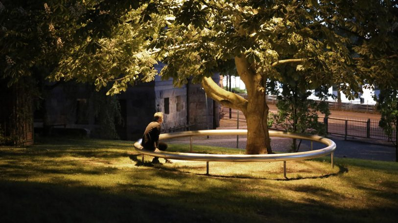 This Circular Park Bench Is The Most Scandinavian Thing Ever