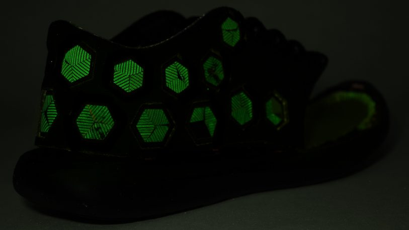 The Running Shoes Of The Future Are Alive (Oh, And They Glow)