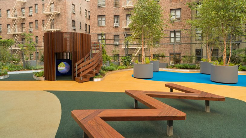 This Lush, Multi-Sensory Playscape Is Hidden Away On A City Rooftop