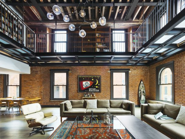 The Gentrifier's Aesthetic: 23 Totally Over-The-Top Industrial Lofts