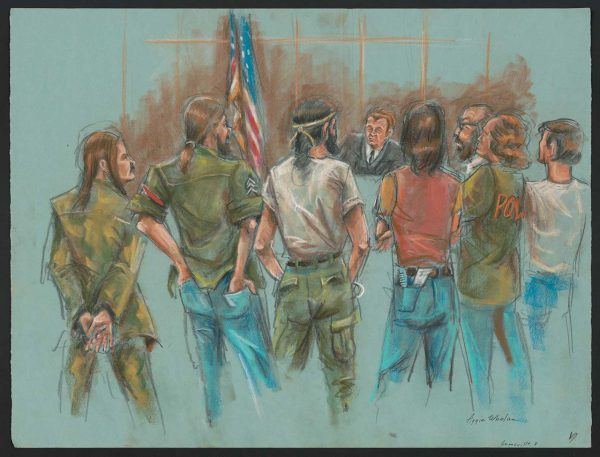 13 Courtroom Drawings That Captured History
