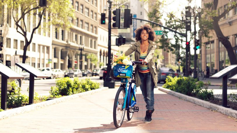 The Bay Areas Expanding Bike Share Is Part Of Fords Transition From - Car sign with namesbikes and cars popular car symbols entertaining ideas