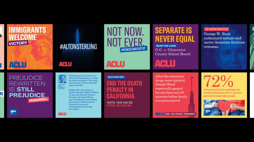 The ACLU's Design Guide For The Resistance