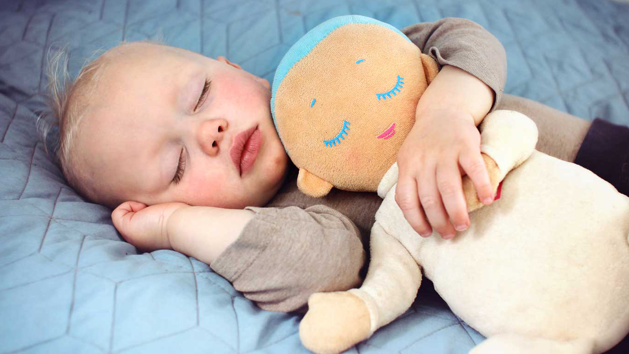 This doll gives new parents the gift of sleep negle Images