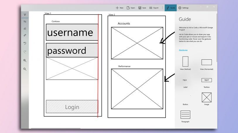 Microsoft Interns Built An App That Turns Napkin Sketches Into UI