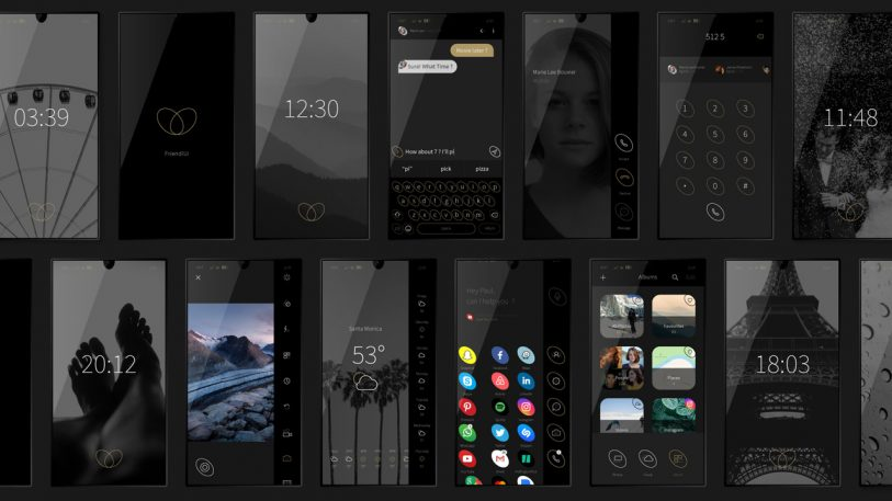 This Smartphone UI Saves Your Battery (And Looks Classy AF)