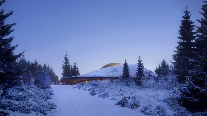 Norway Is Building The Most Beautiful Planetarium I've Ever Seen