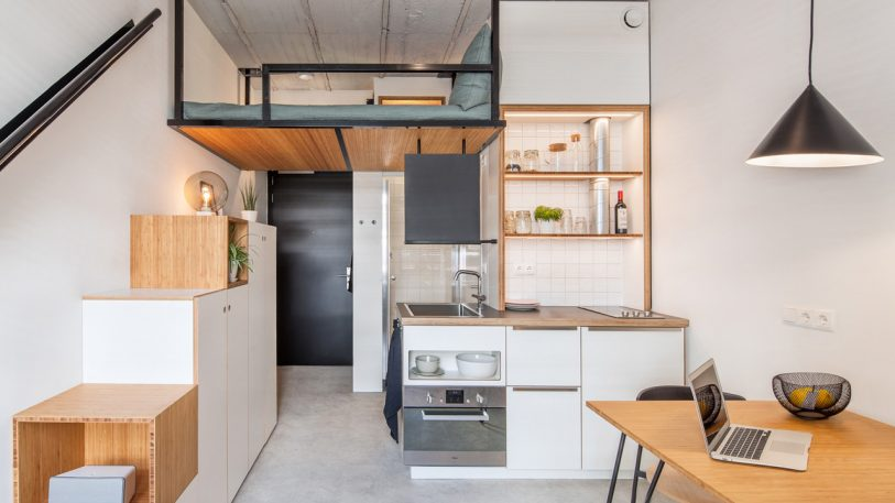 Where was this tiny house-inspired dorm when I was in school?