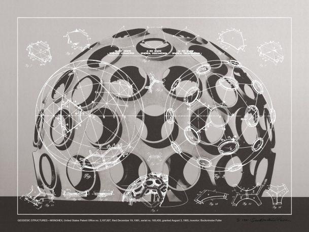 Buckminster Fuller made his own fan art posters
