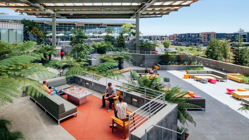 Facebook unveils a glossy new Frank Gehry-designed office