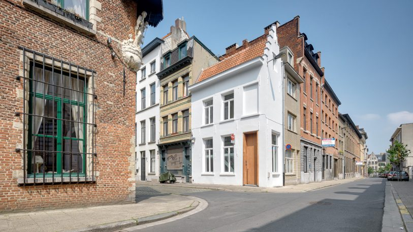 This single-room hotel is 400 years old and eight feet wide