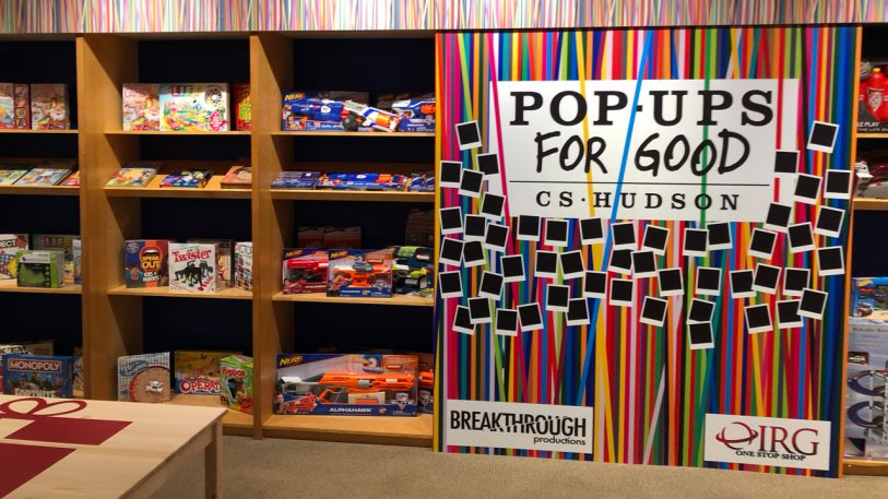 All the toys are free at this pop-up store for homeless kids