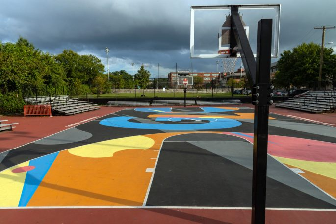 These serene photos of global basketball hoops take you on a trip around the world