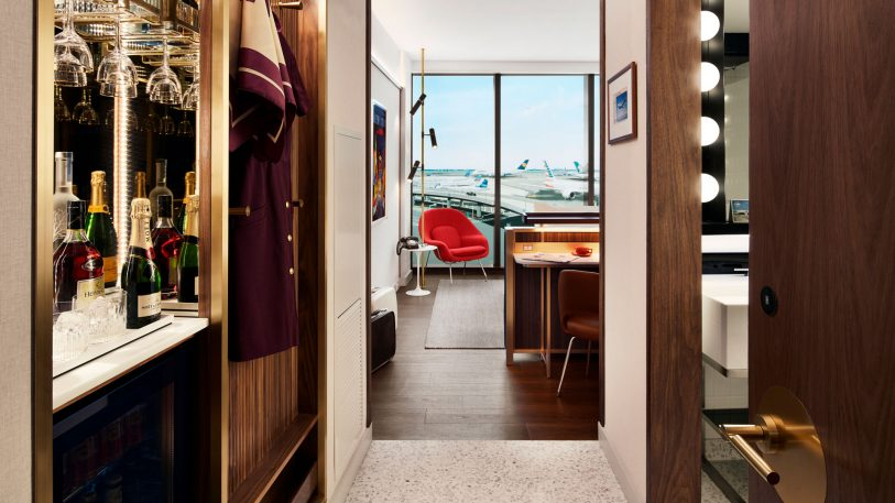Check out the new TWA Hotel's gloriously retro rooms