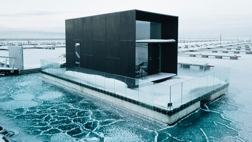 This floating house is climate apocalypse-ready