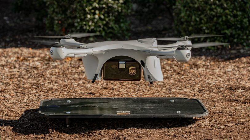 The country's first regular commercial drone delivery is here