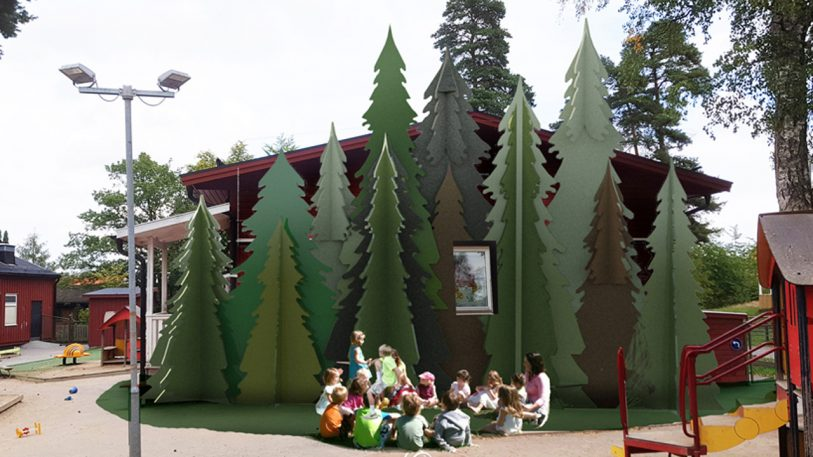 Prepare to fall in love with the portable schools of Sweden