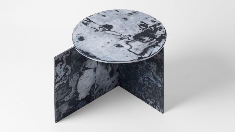 Furniture made out of old jeans is way more beautiful than it sounds