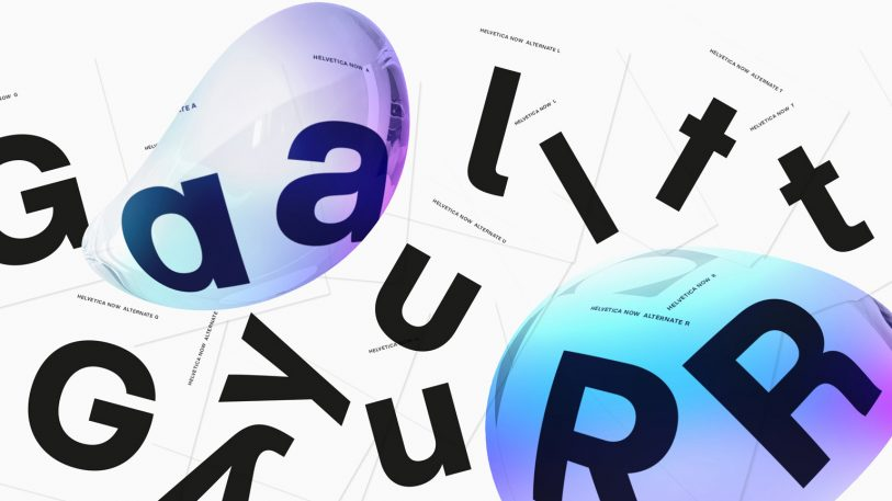 Helvetica, the world's most famous typeface, gets a makeover