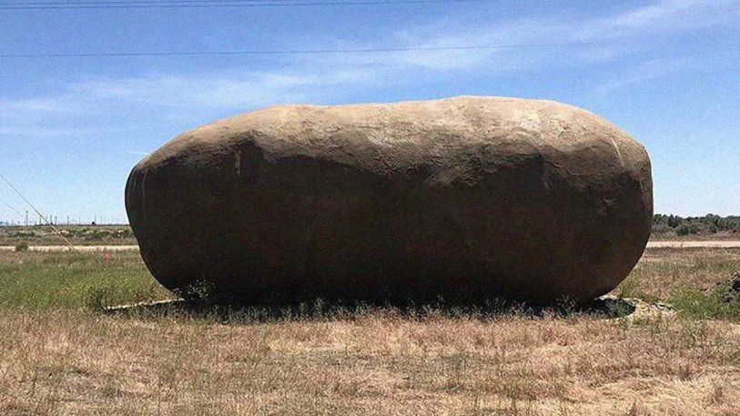 There's a giant potato for rent on Airbnb and it's surprisingly chic
