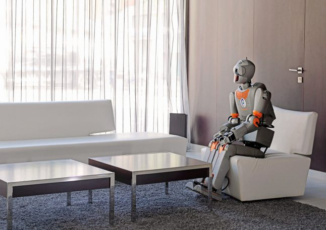 Try not to be creeped out by these eerily human portraits of robots